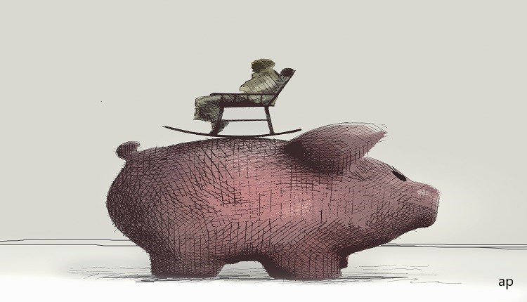 Rocking Chair on a Pig