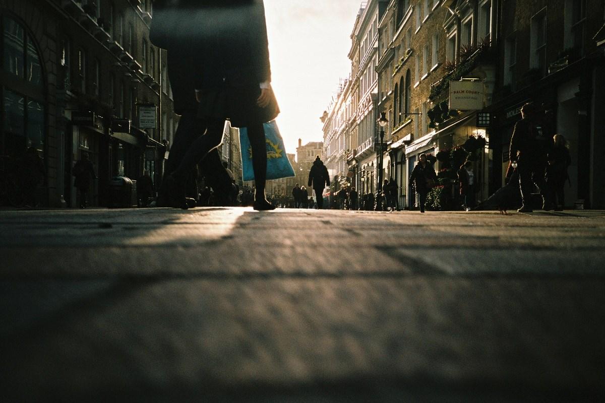 Street opening up