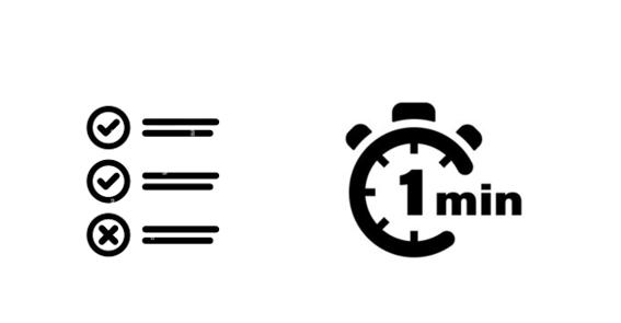 Test 1 minuto