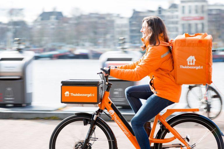 thuisbezorgd bike