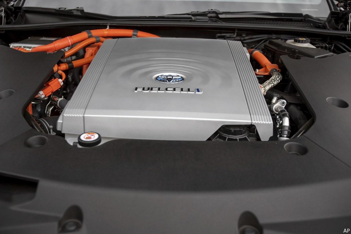 Toyota hydrogen car engine