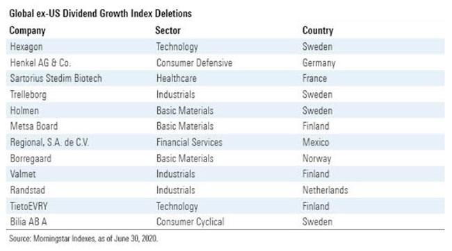 Dividend Index