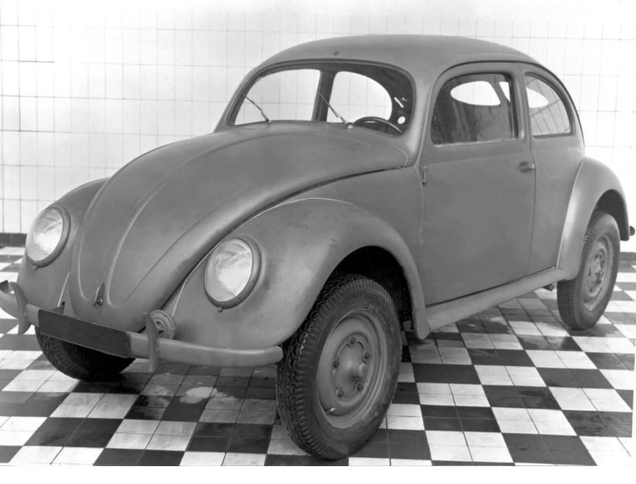 Historisches Bild VW Kaefer