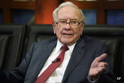 Warren Buffett talks