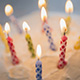 Birthday cake candles thumbnail