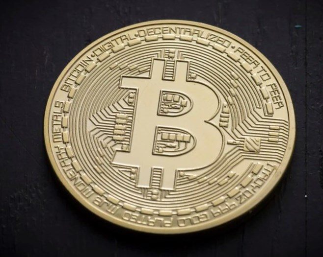 Bitcoin physical coin