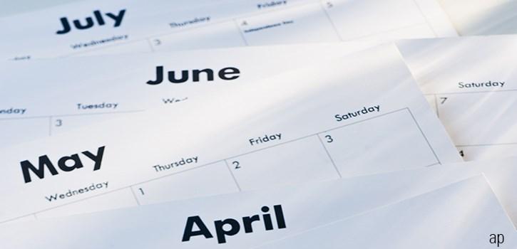 Calendar months article