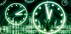 Clocks 300 by 145