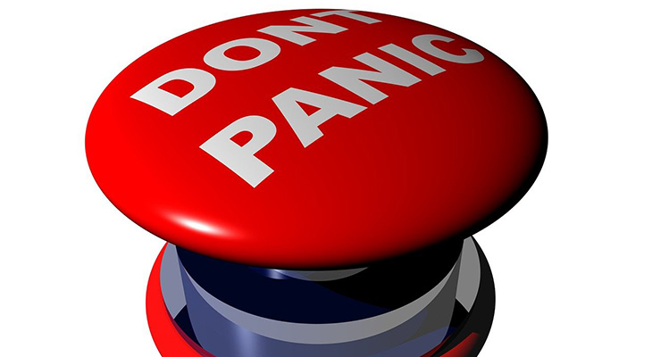 Dont panic button article