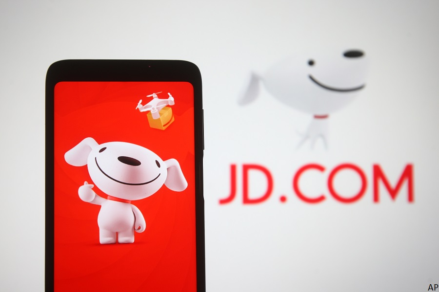 JD.com logo and mascot