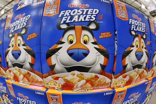 Kellogg cereals US groceries food consumer