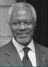 """""""Photograph of Kofi Annan"""""""