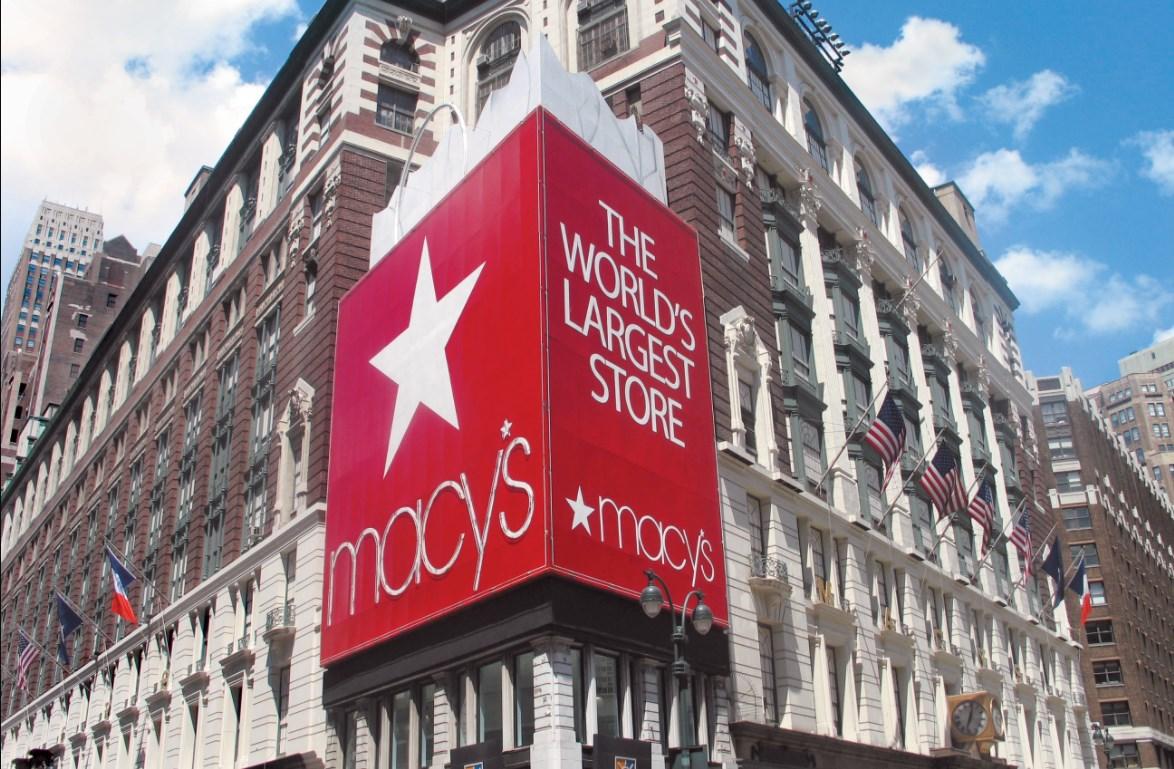 Foto von Macys in New York, das größte Kaufhaus der Welt