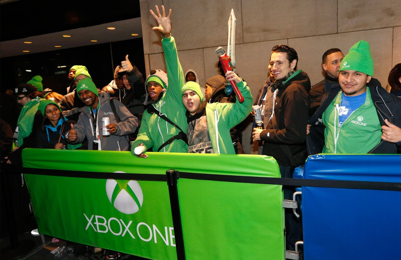Der Start der Xbox in New York