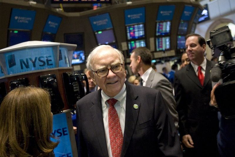 Warren Buffett at NYSE