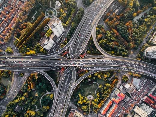 Mixing highways
