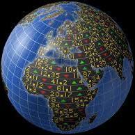 World ticker numbers vierkant