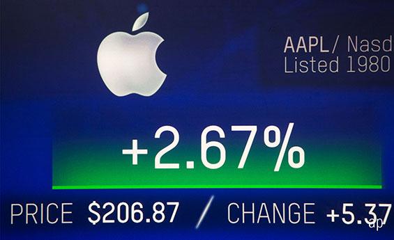 apple equity billion dollar company megacap stocks tech equity
