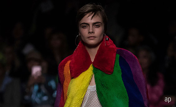 Burberry at London Fashion Week 2018