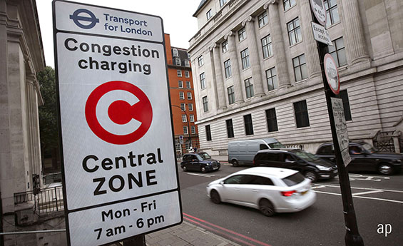 Capita runs the congestion charging zone in London