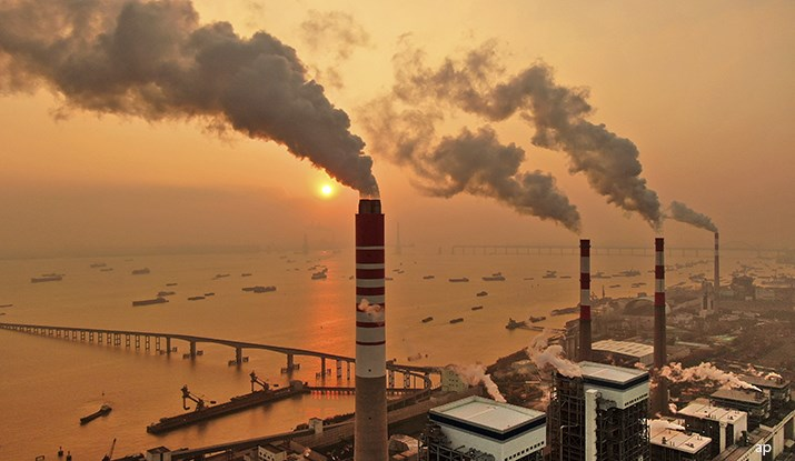 Chinese coal plant