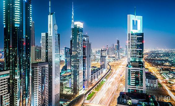 Dubai cityscape Emerging Markets