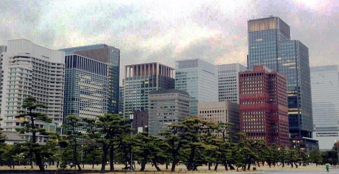 Japan skyline Tokyo asian economies stock market 2019 outlook