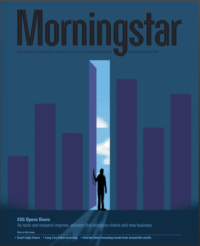 Forsiden av Morningstar Magazine oktober og november 2018