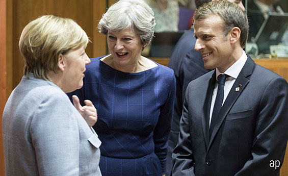 The only real political risk now is the UK, where Brexit talks are deadlocked