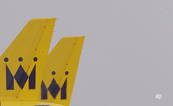 Monarch Airlines plane