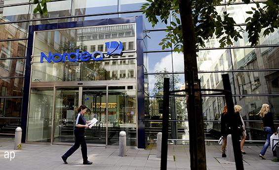 Nordea's Stockholm office in Sweden