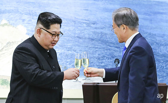 Korea unification, Kim Jong-un, Moon Jae-in, South Korea, North Korea, emerging markets