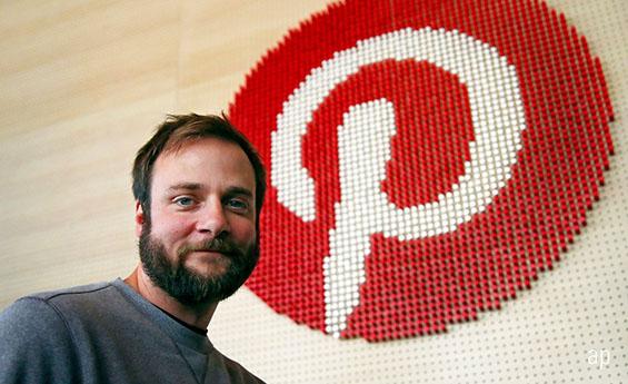 Pinterest founder Evan Sharp