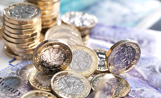 Savings pound coins pensions annuities