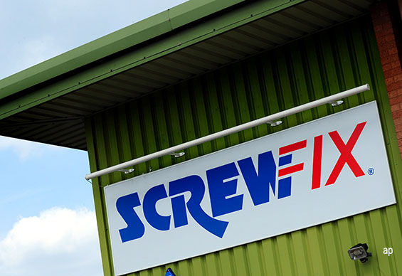 Screwfix Kingfisher DIY retail stocks retailers stock market UK FTSE 100