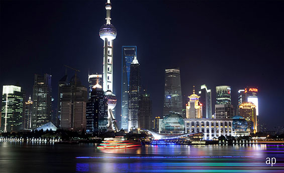 Shanghai, China, emerging markets, passive funds, ETF