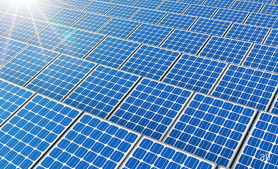 Solar panels and sustainable investing