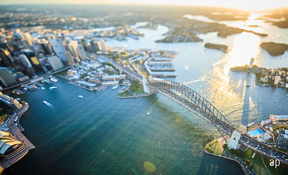 Australia Sydney skyline aerial markets article