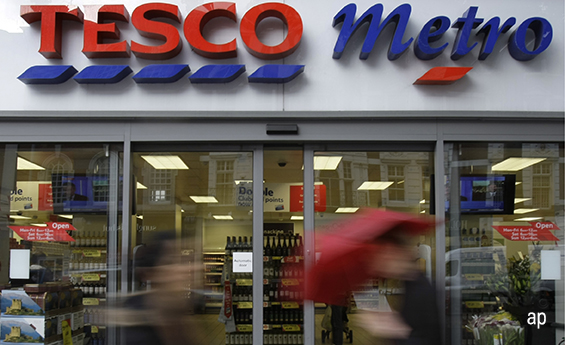 Tesco Metro store, tesco, contrarian investments, retailers, RBS, banks