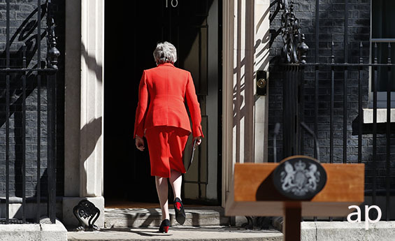 Theresa May Resigns