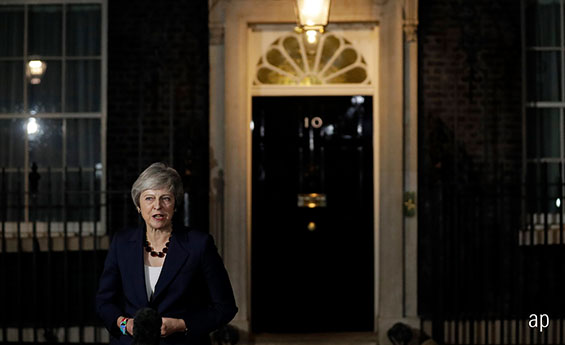 Theresa May vote of no confidence Brexit conservatives