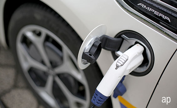 Electric vehicles saw a benefit from the Budget