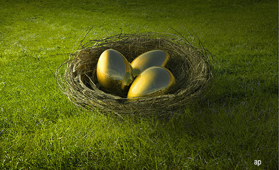 Golden eggs - investing