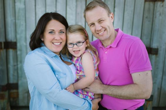 Financial journalist Kara Gammell with her family Junior ISA tax efficient savings children investing
