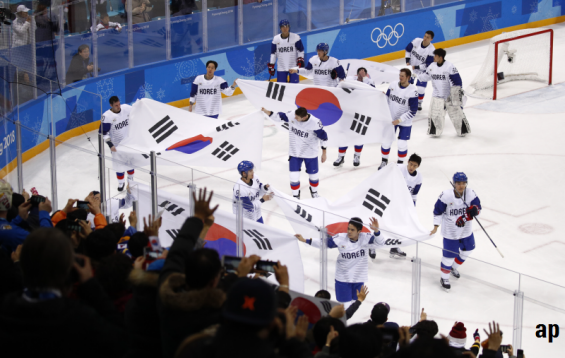 North and South Korea unified for the 2018 Winter Olympics