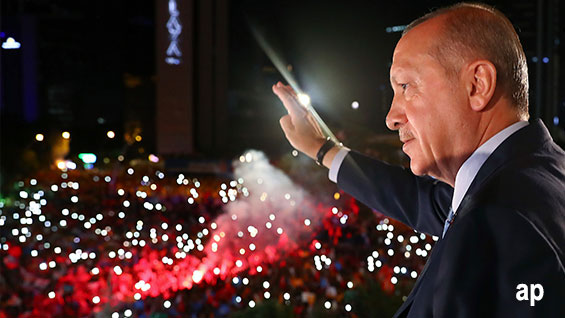 Turkey President Erdogan US sanctions emerging markets top rated funds developing economies