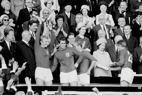England 1966 World Cup football 2018 Russia tournament UK FTSE 100